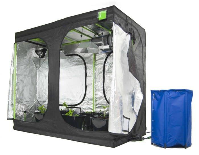 Roof Qube Grow Tent Green Qube