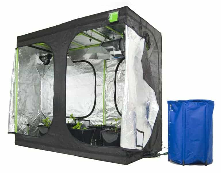 Roof Qube Grow Tent Green Qube