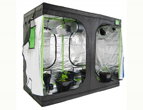 Roof Qube Grow tent Green Cube