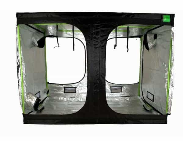 Roof Cube Attic Grow room