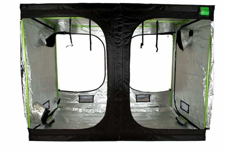 attic roof cube Green Qube 2030 grow tent