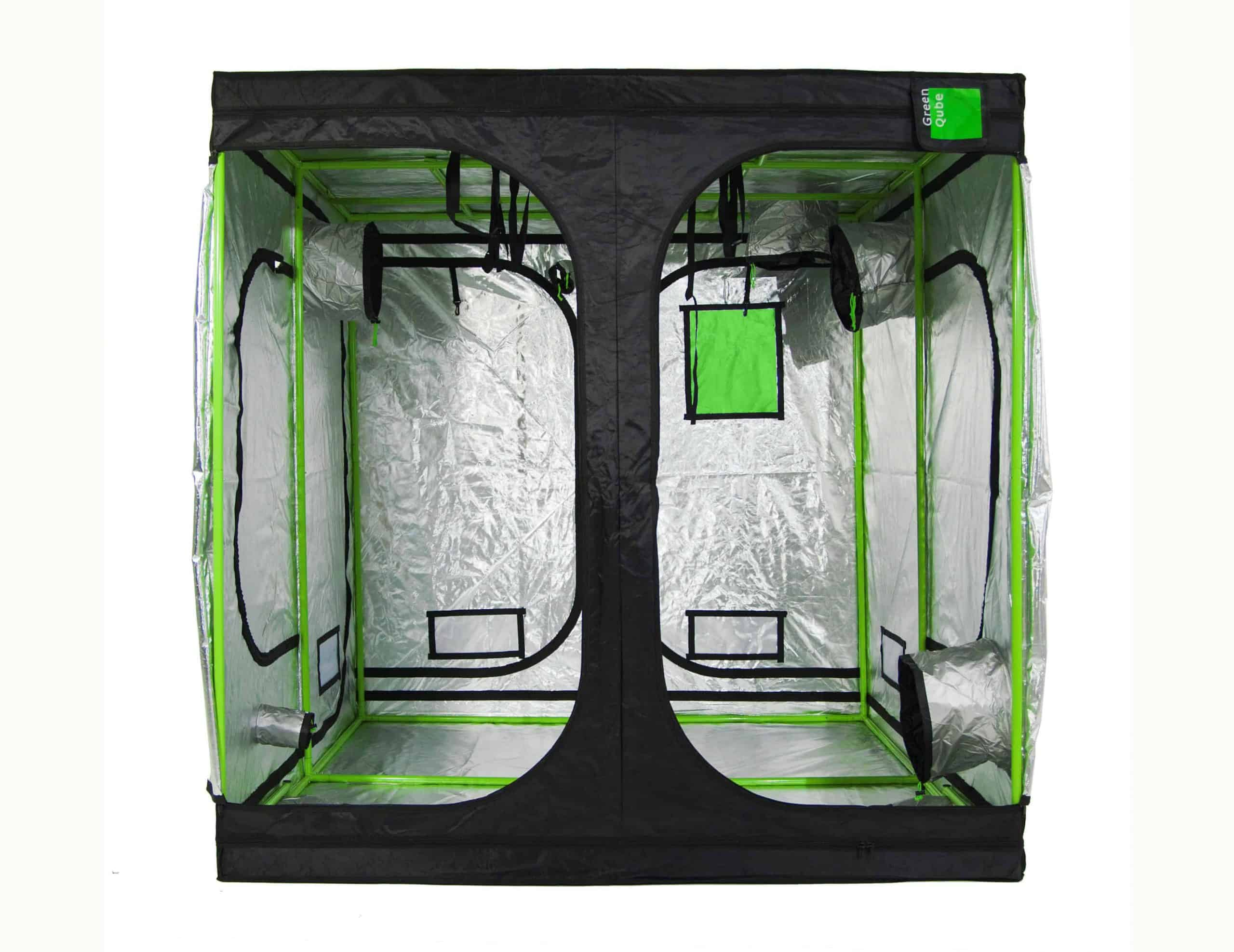 Grow Room Cube attic roof