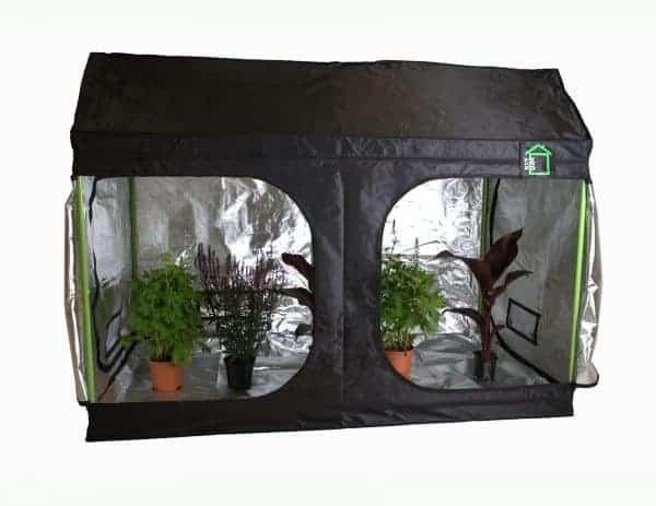 Roof Cube attic Grow room green cube
