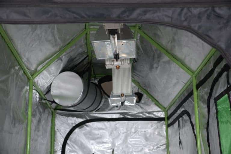 Green Qube: Roof Qube 1224 grow room roof structure