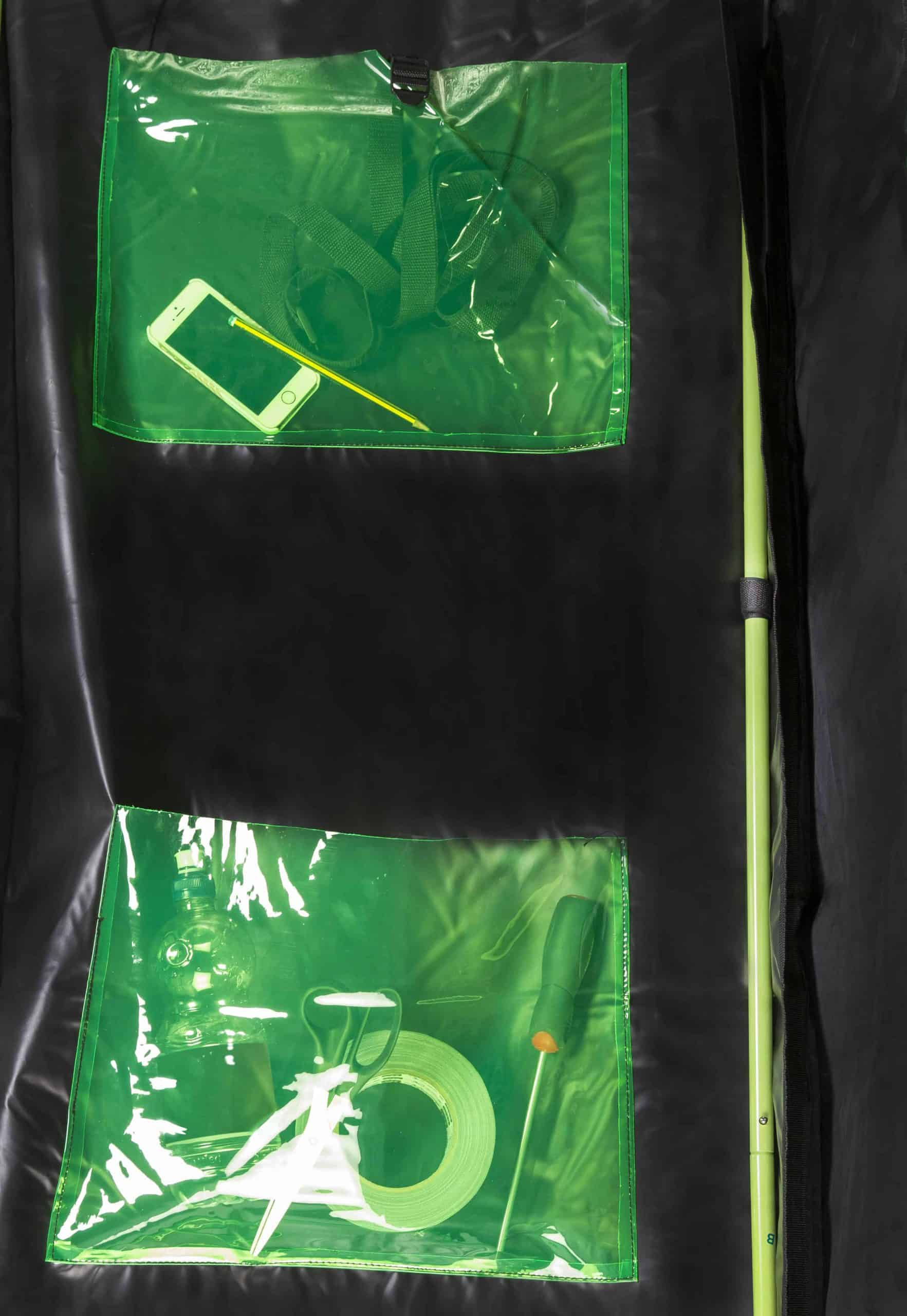 X Qube pockets for grow rooms