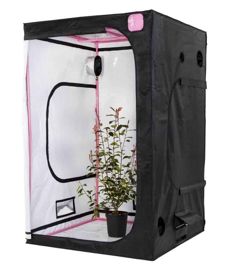 LED Qube grow room from Green Qube