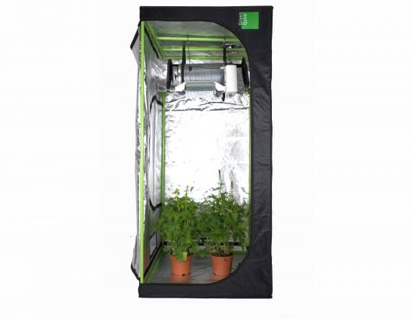 Roof Qube attic Grow Room Green Cube