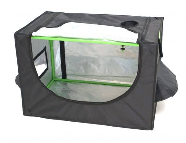 Attic cube roof green cube grow room