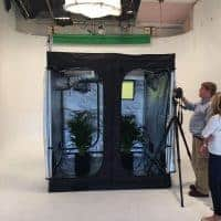 Green Qube grow room - Quick Qube 6