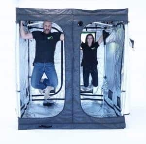 Pop up grow tent frame for Quick-Qube strong