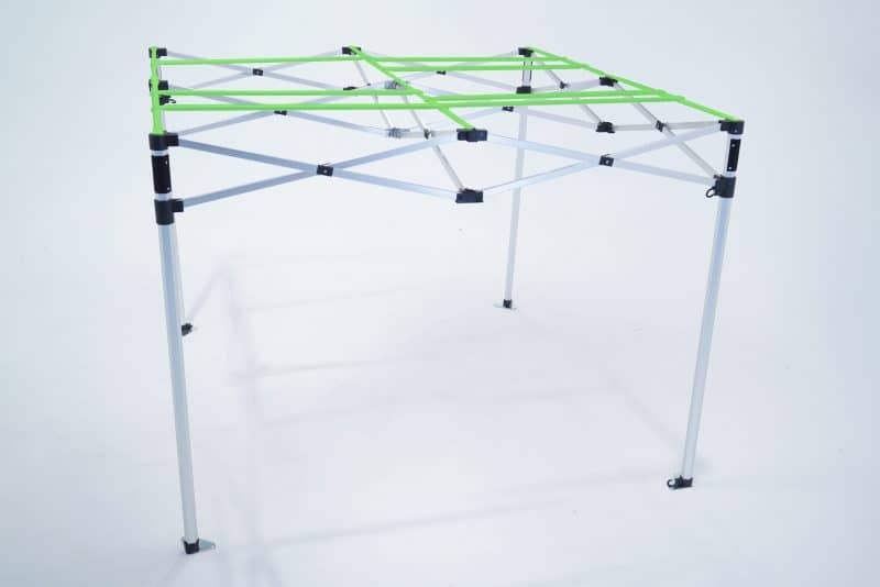 GRow tent with hanging bars - The Quick-Qube