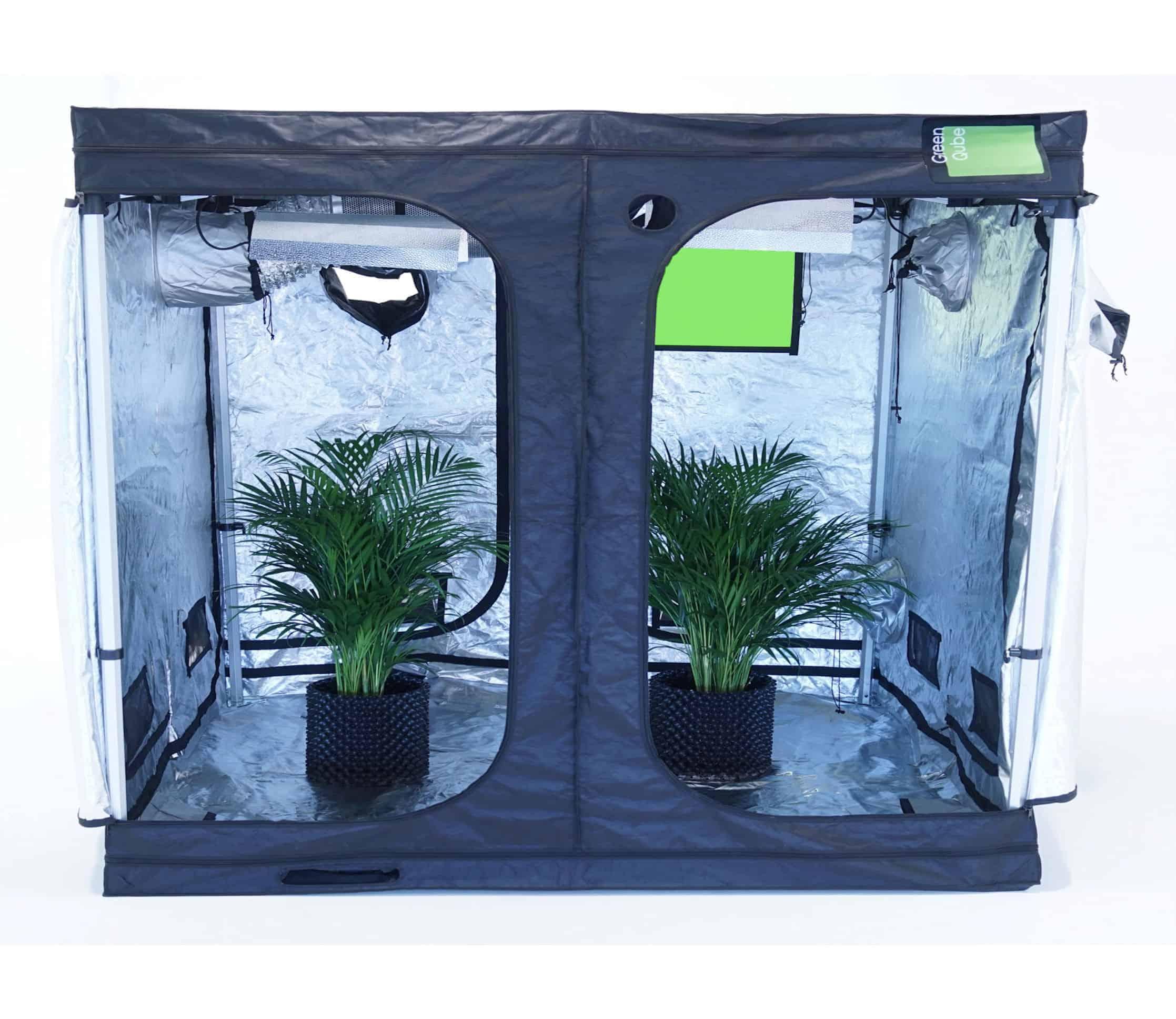 Quick Qube grow tents ...  sc 1 st  Green Qube & Quick Qube 300 - Grow Tent - 3m x 3m x 2.2m -Grow tents