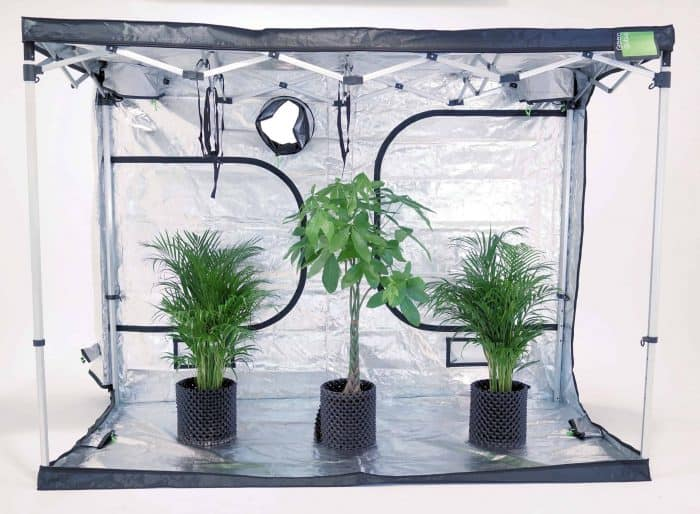 Pop up grow tent frame for Quick-Qube 2030