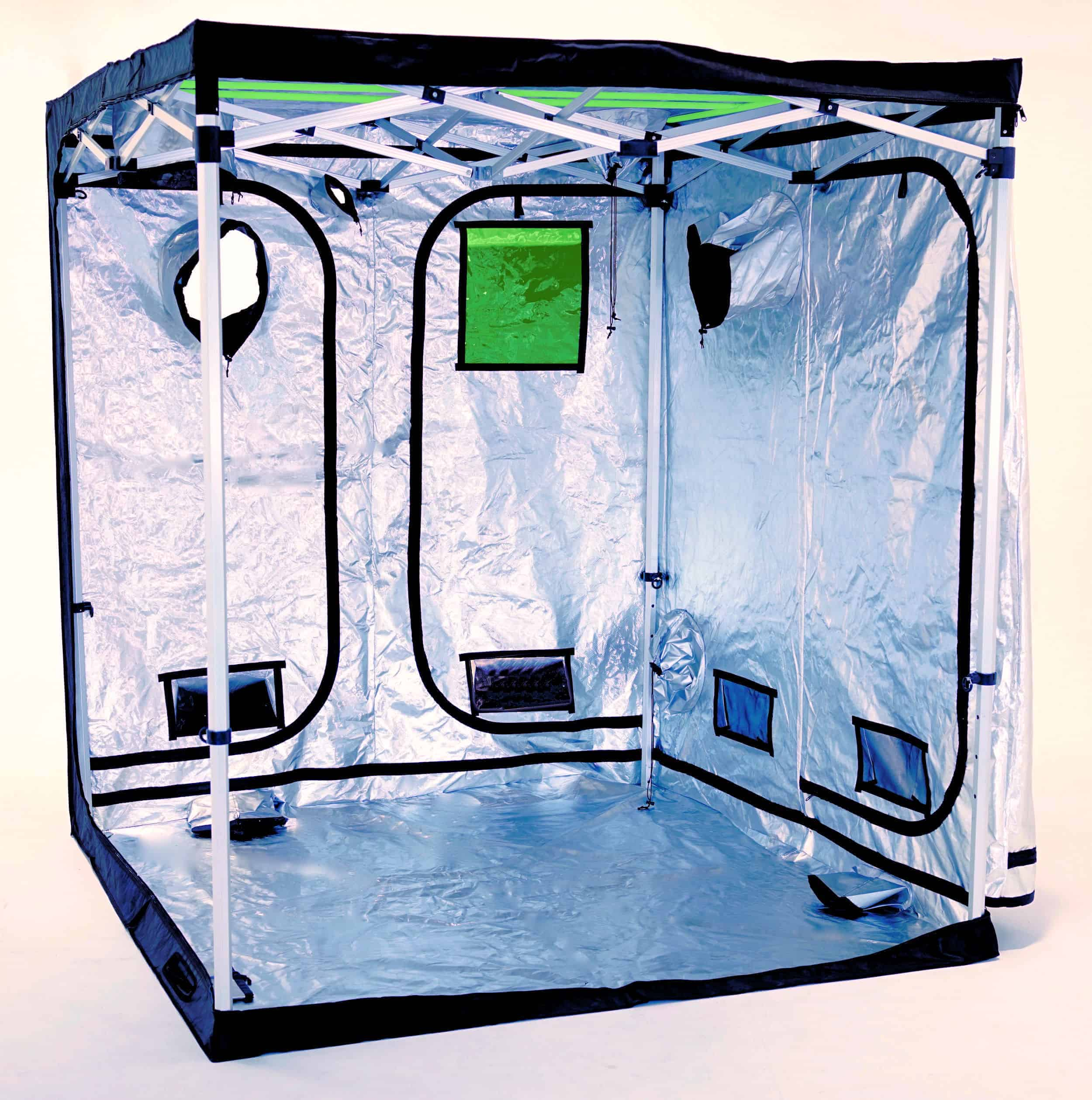 Pop up grow tent frame for Quick-Qube 200
