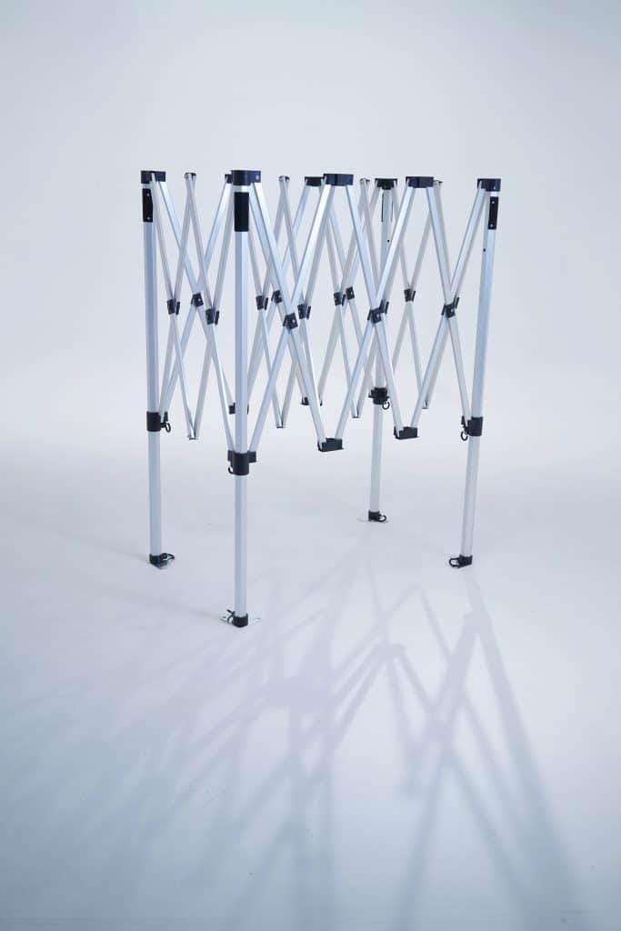 Grow tent frame for Quick Qube