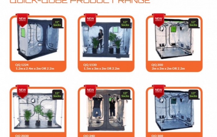 Grow tent Catalogue from Green Qube