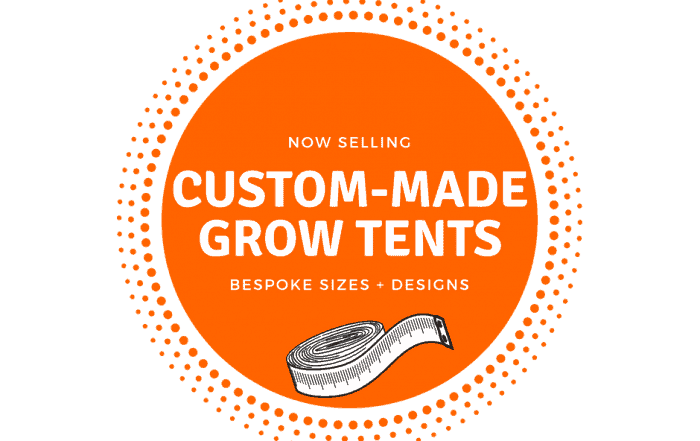 Bespoke custom made grow tents