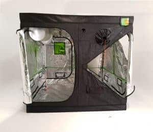 Grow room Green Qube V - V door