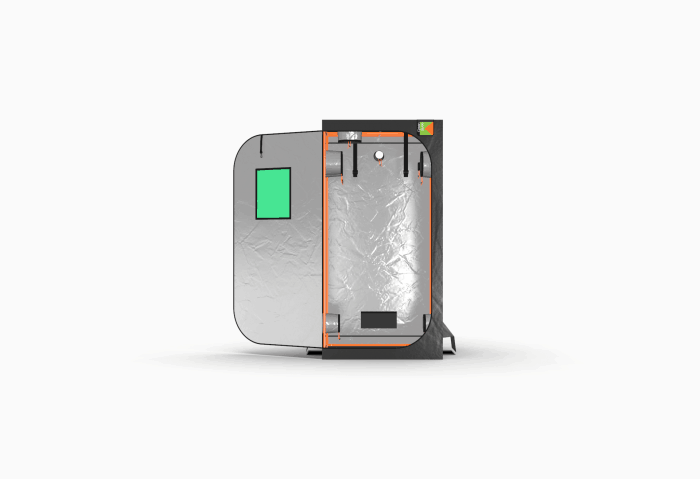 Grow Tent by Green Qube - GQ100 Front