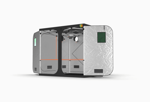 Grow Tent from Green Qube - the Quick Qube 240 Side